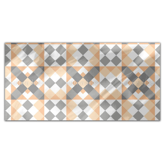 Angled Patchwork Rectangle Tablecloths