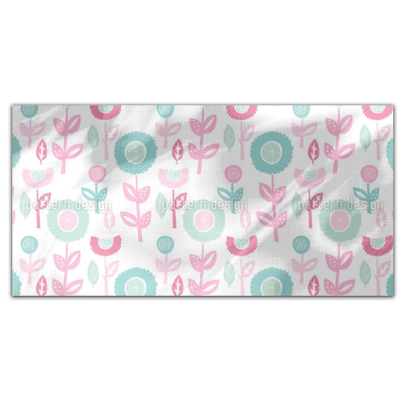 Baby Floral Rectangle Tablecloths