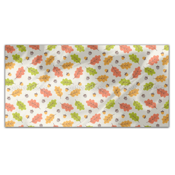Autumnal Leaves Fall Rectangle Tablecloths