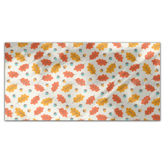 Autumnal Leaves In Cool Breeze Rectangle Tablecloths