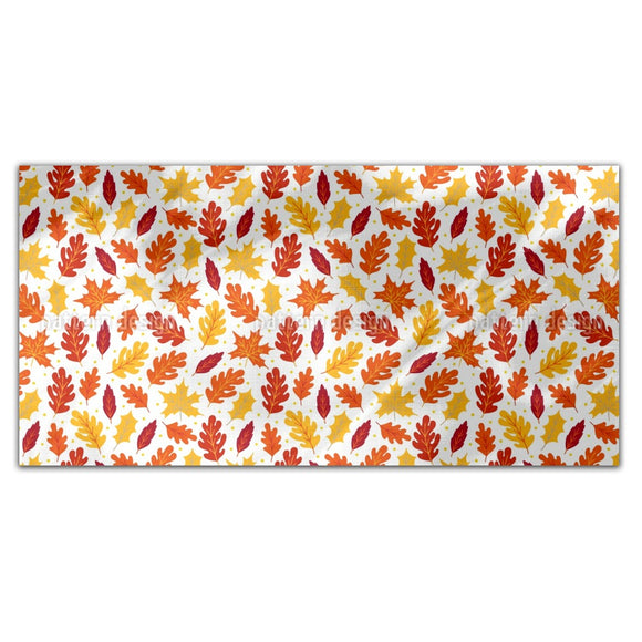Abstract Autumnal Leaves Rectangle Tablecloths