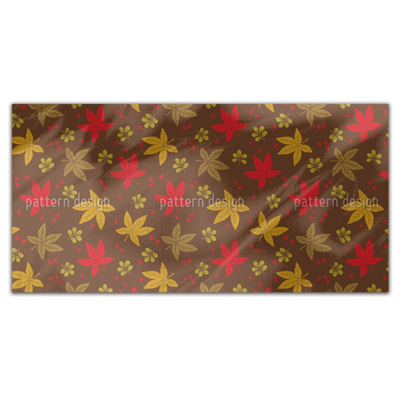Distributed Autumn Leaves Rectangle Tablecloths