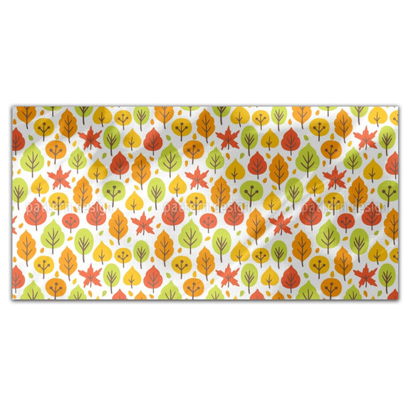 Bright Autumn Forest Rectangle Tablecloths
