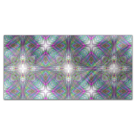 Psychedelic Cross Rectangle Tablecloths