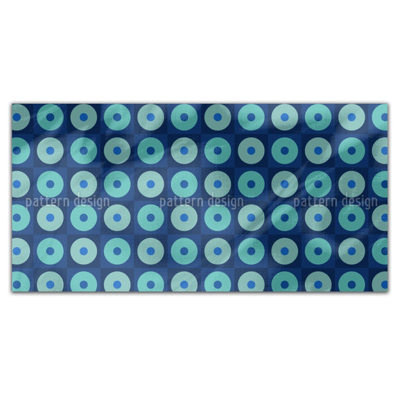 Dot Squares Rectangle Tablecloths
