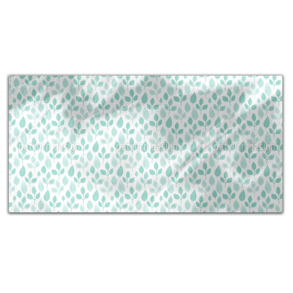 Pressed Leaves Rectangle Tablecloths