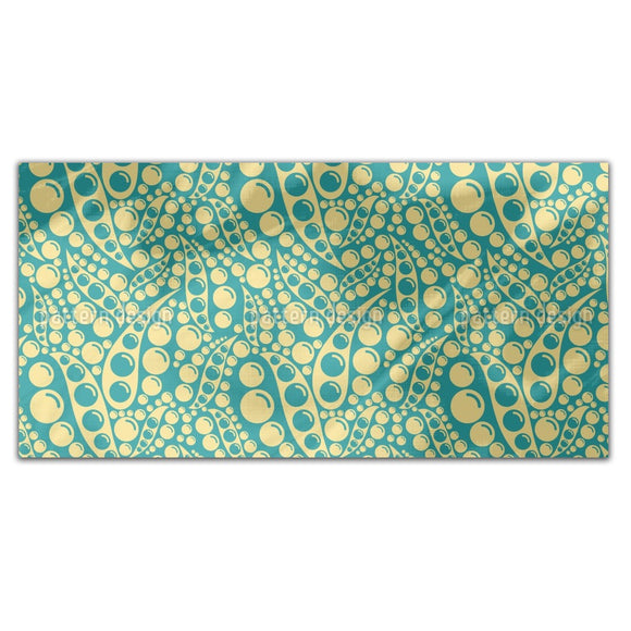 Abstract Peas Rectangle Tablecloths