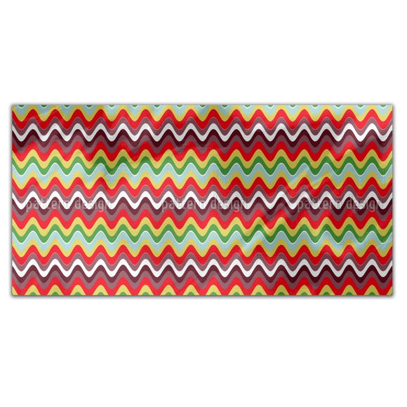 Wavy Retro Vibes Rectangle Tablecloths