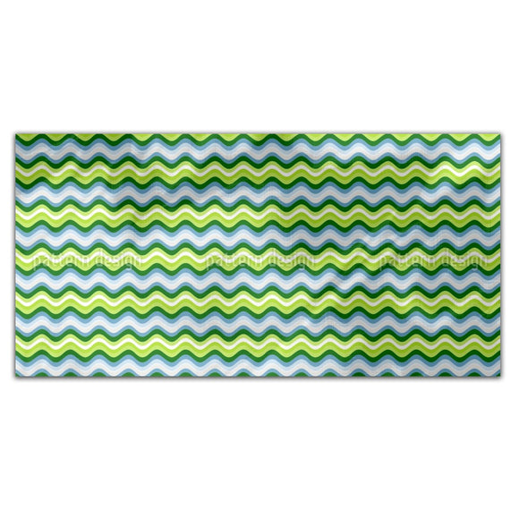 Waves Are Rolling Rectangle Tablecloths