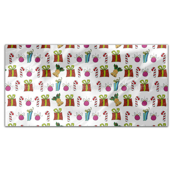Christmas Presents And Candy Sticks Rectangle Tablecloths