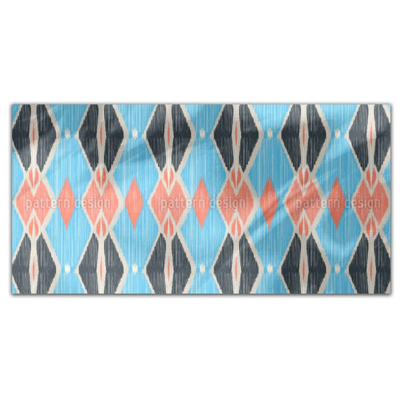 Ikat Forms Rectangle Tablecloths