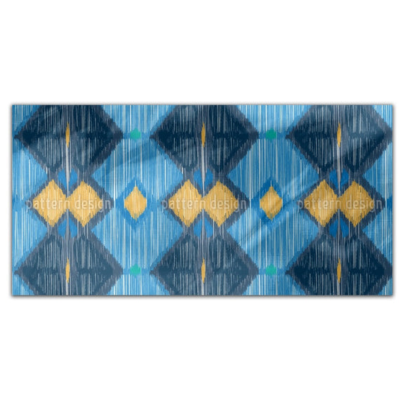 Ikat King Rectangle Tablecloths