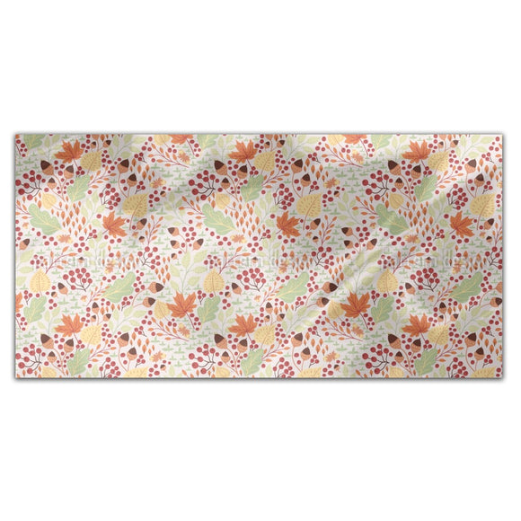 Forest Autumn Rectangle Tablecloths