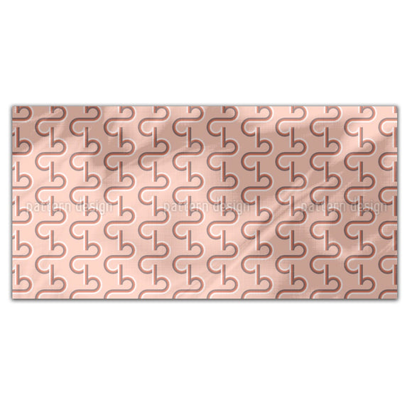 Retro Typo Ribbon Rectangle Tablecloths