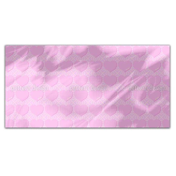 Angular Hearts Rectangle Tablecloths