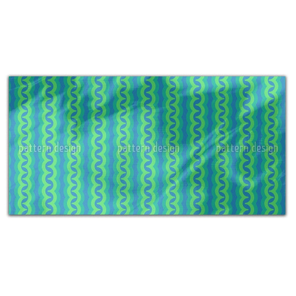 Water Snakes Rectangle Tablecloths