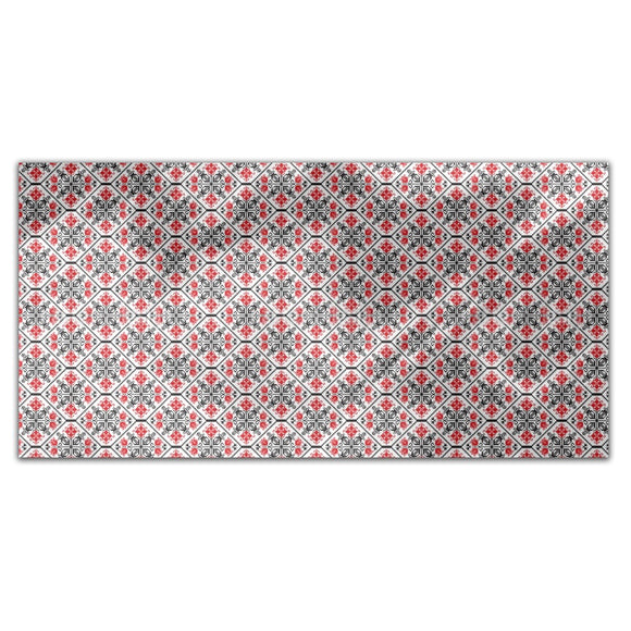 Romanian Tessellation Rectangle Tablecloths