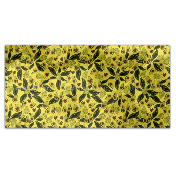 Tropical Avocado Rectangle Tablecloths