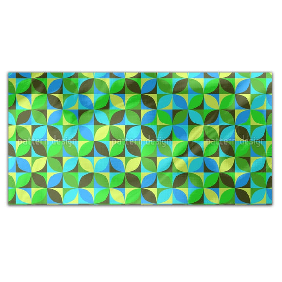 Roller Grid Rectangle Tablecloths