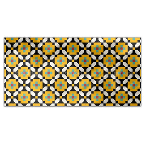 Modern Berber Art Rectangle Tablecloths