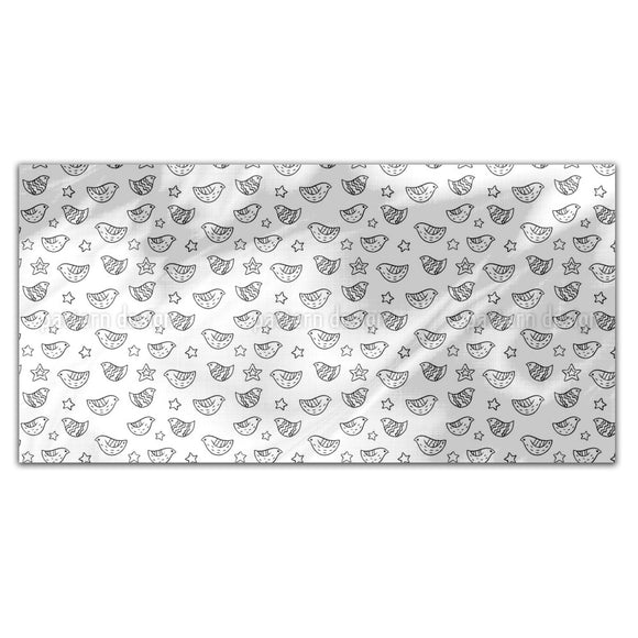 Birds And Stars Rectangle Tablecloths