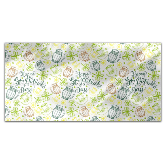 St Paddies Party Rectangle Tablecloths