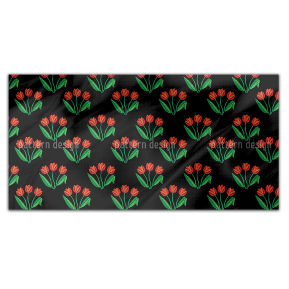 Tulip Flowers Rectangle Tablecloths