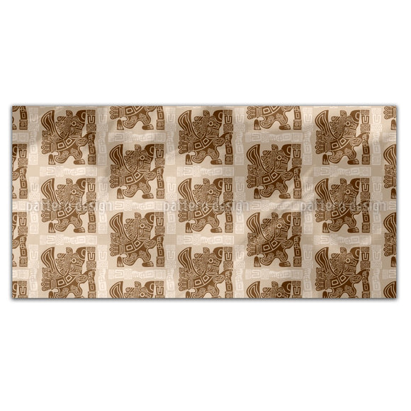 Aztec Eagle Warrior Rectangle Tablecloths