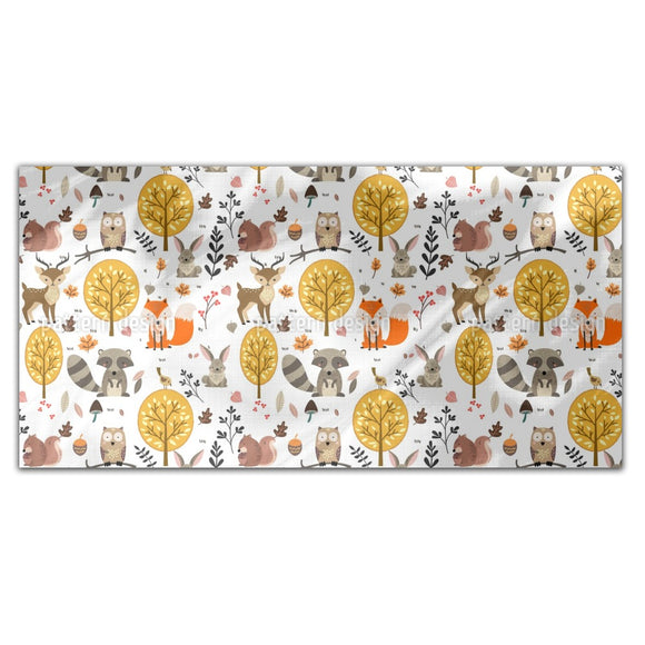 Wild Forest Animals Rectangle Tablecloths