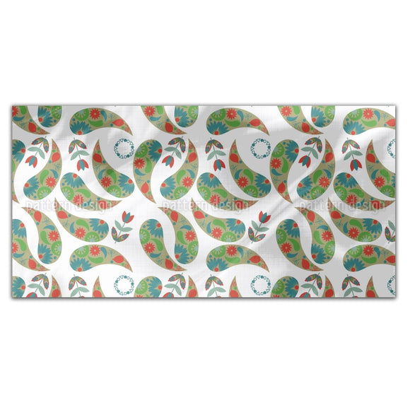 Spring Paisley Rectangle Tablecloths