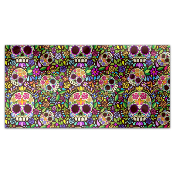 Mexican Skull Rectangle Tablecloths