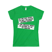 You like safe spaces? T-Shirt Women's Junior fit