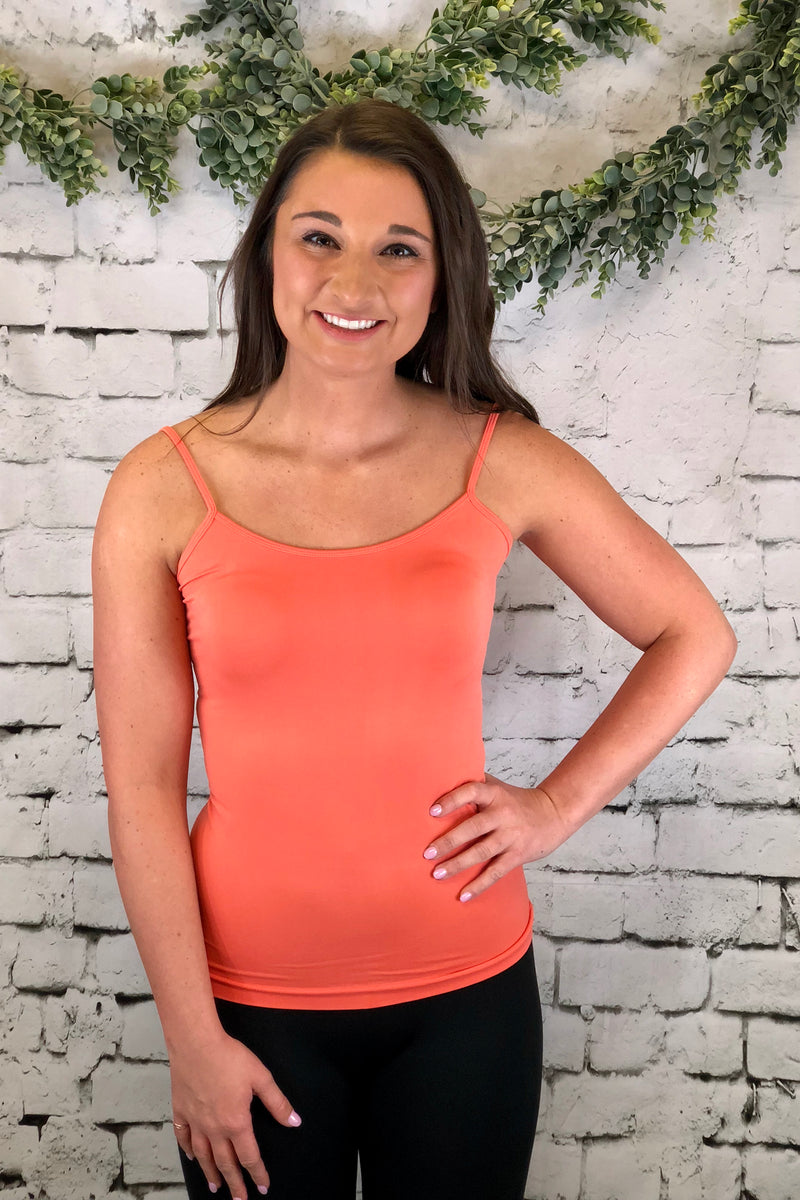 Seamless Cami - Coral