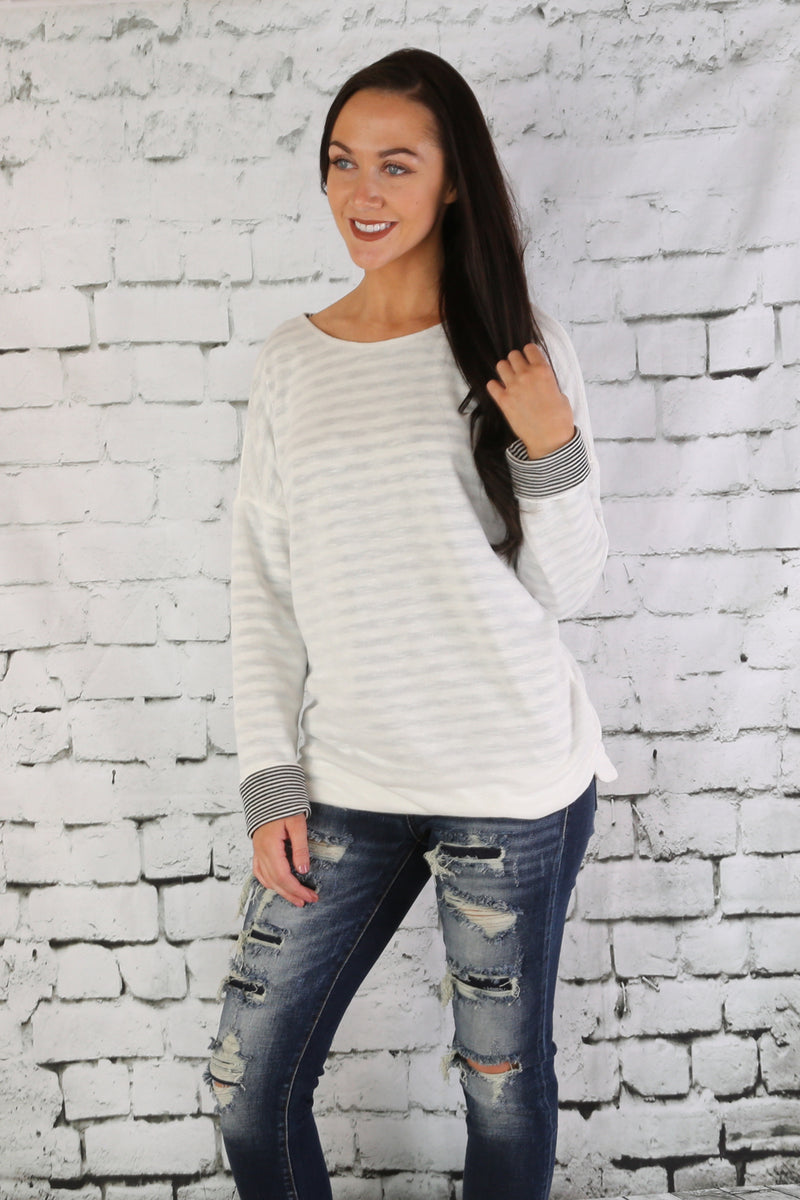 Reversible Soft Knit Sweater