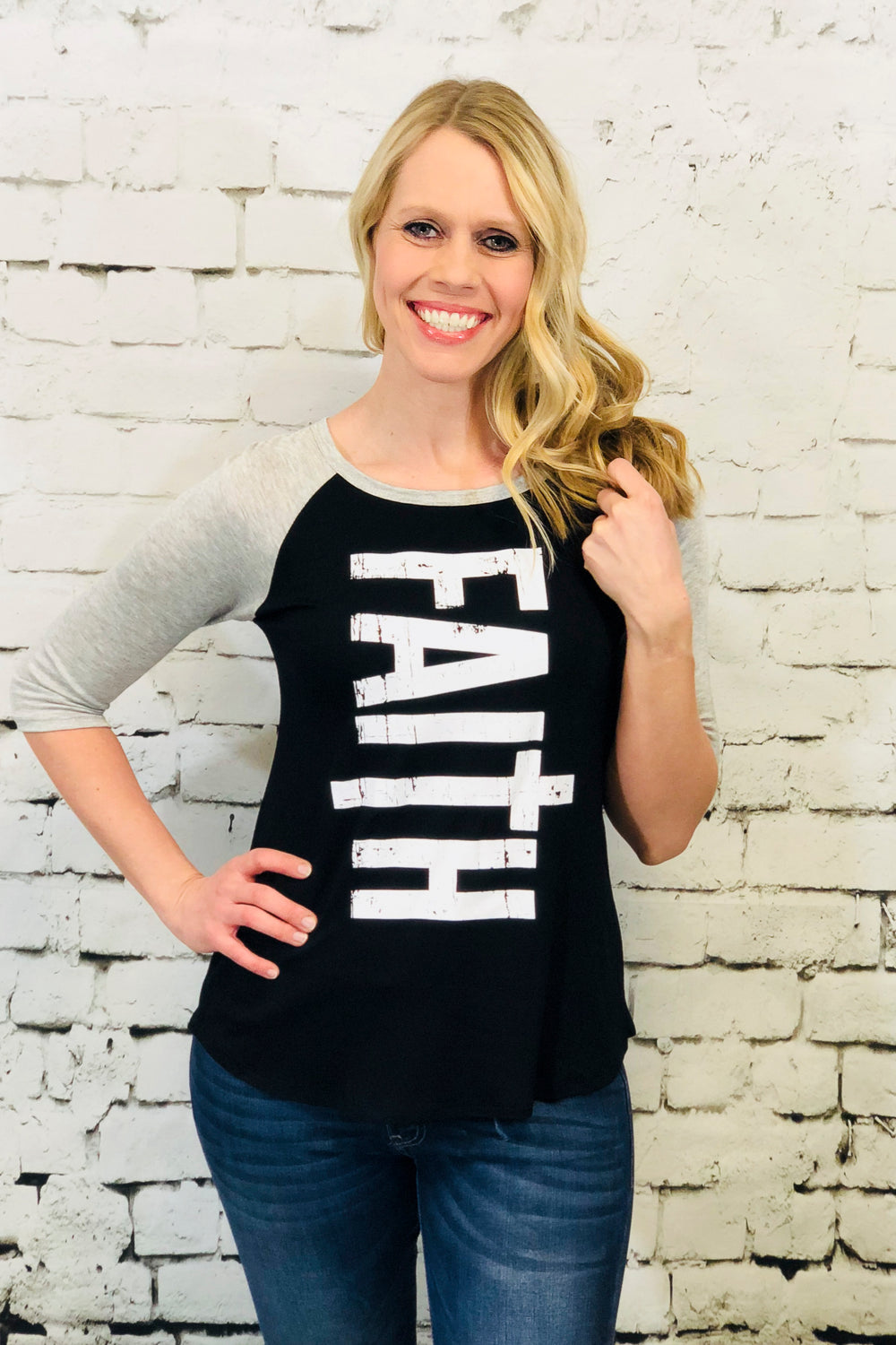 graphic tee faith