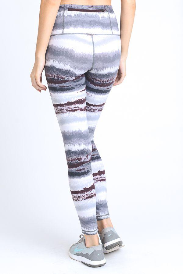 HIGH-WASIT ZEN MULTI-COLOR PRINT FULL LEGGINGS