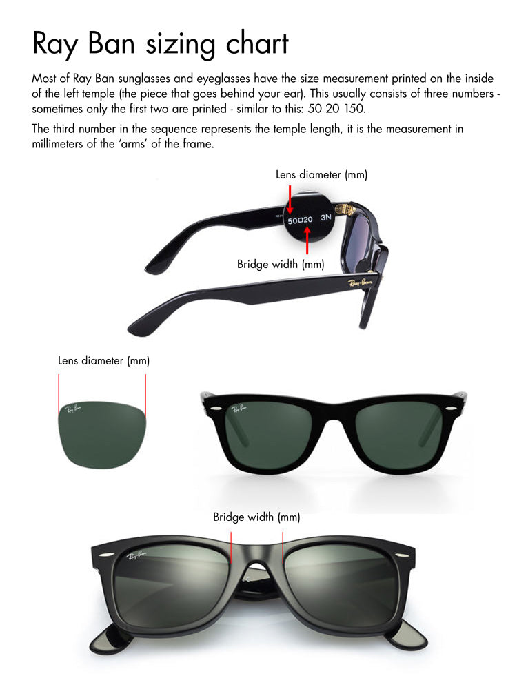 Rayban Fit Guide
