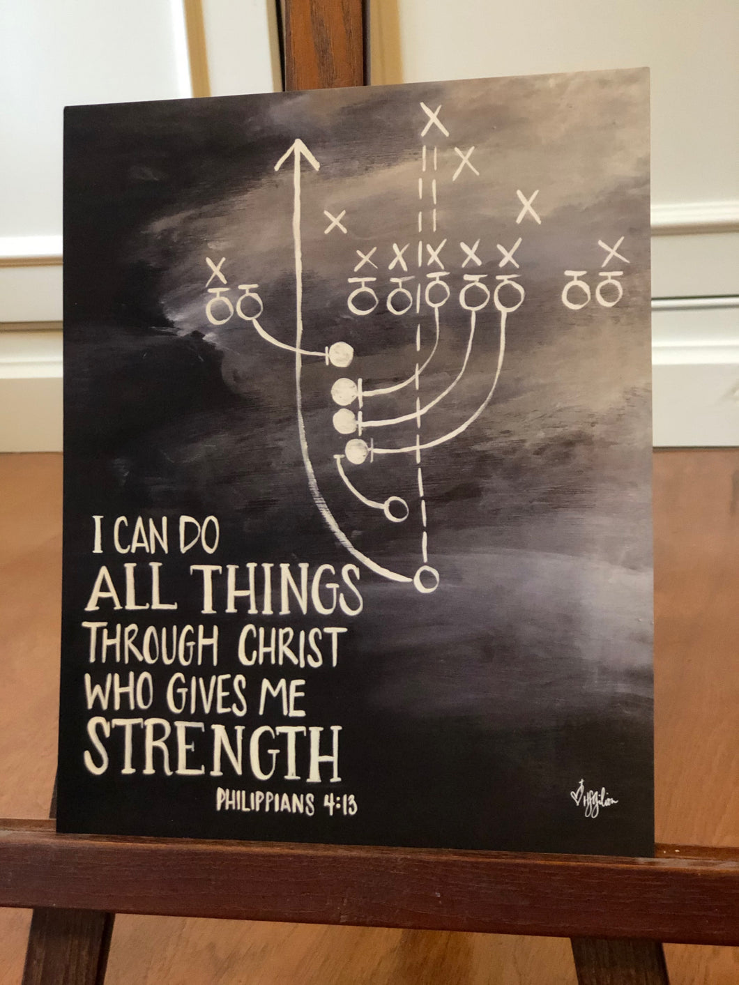 I can do all things - football