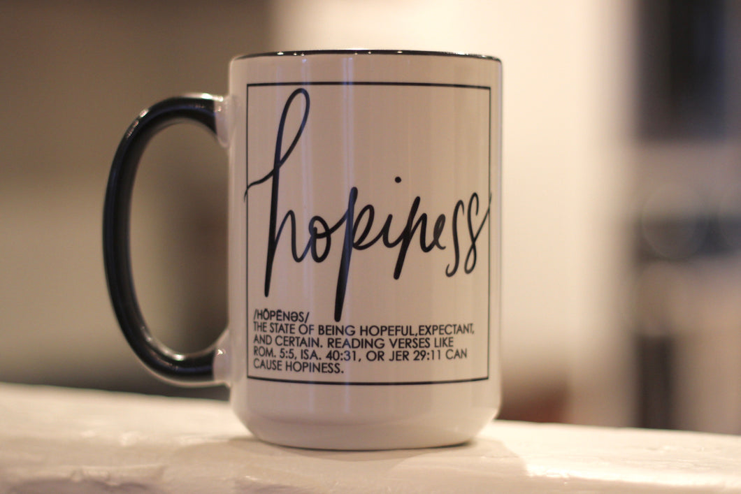 Hopiness Mug + greeting card