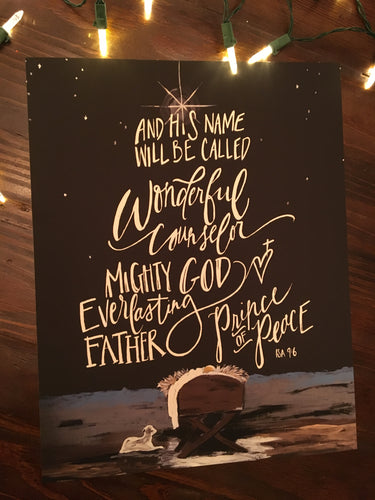 Prince of Peace | Christmas Print