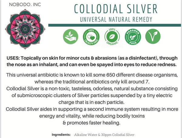Colloidal Silver - Antiseptic Spray