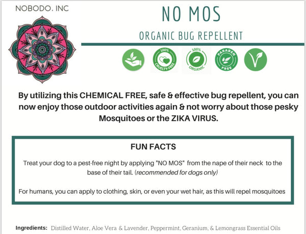 NO MOS - Mosquito Repellent