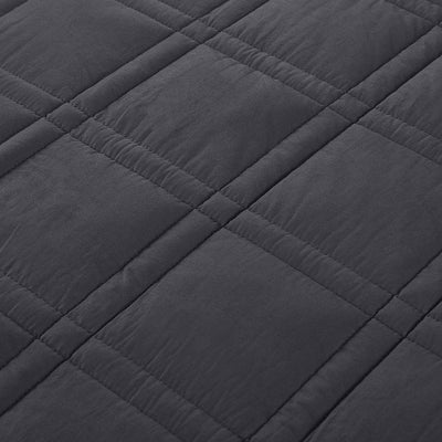 PUREDOWN Premium Adult Weighted Blanket with Glass Beads, 12 lb-25 lb, 100% Cotton Fabric