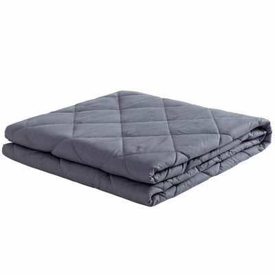 Premium Adult Weighted Blanket with Glass Beads, 12 lb-25 lb, 100% Cotton Fabric