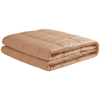 PUREDOWN Reversible Weighted Blanket for Adults with Glass Beads, 7 lb-20 lb, Super Soft Fabric