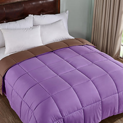 PEACE NEST All Season Reversible Down Alternative Quilted Comforter