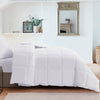 All Season White Down Comforter/Duvet Insert, 100% Cotton 600 Fill Power