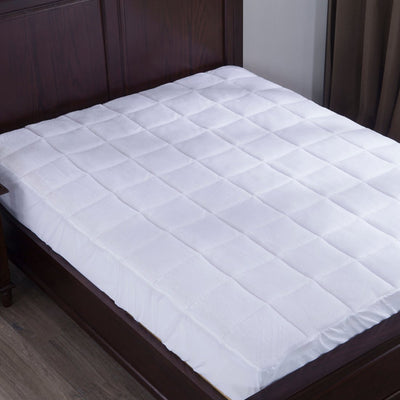 PUREDOWN - Alternative Down Mattress Pad/Topper, Quilted - Puredown