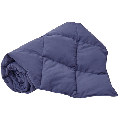 Goose Down Packable Sport Blanket, Down-Proof Peach Skin Fabric