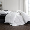 All Seasons White Down Comforter with 100% Cotton Cover 500 TC